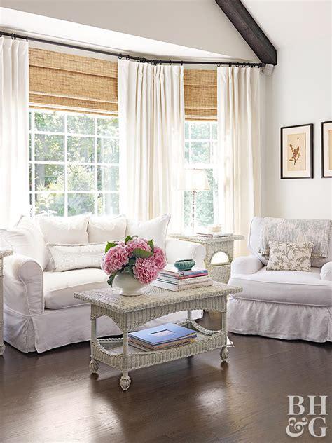 bay  bow window treatment ideas  homes gardens