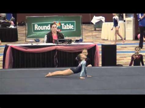 amanda miller floor routine deltchev gymnastics  youtube