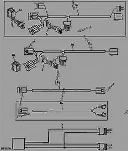 Wiring Harnesses  Supplementary -  U62d6 U62c9 U673a Uff0c U7d27 U51d1 U516c U7528 John Deere 4400 - Tractor  Compact Utility