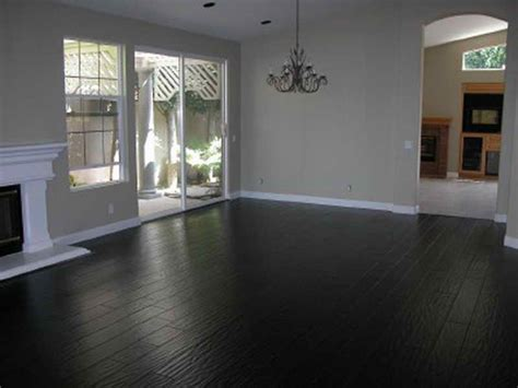 Planning & Ideas  Installing The Dark Hardwood Floors