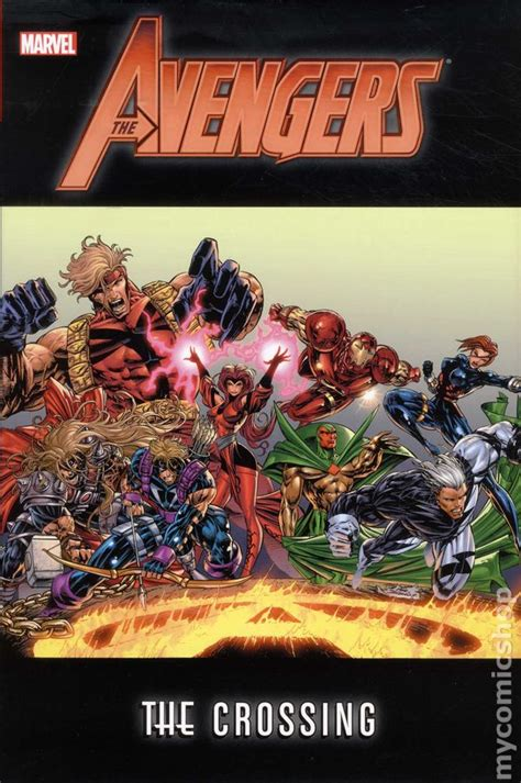 comic books  avengers  crossing