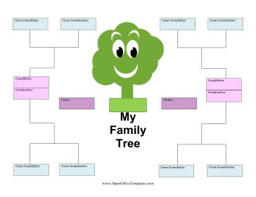 Family Tree Templates With Siblings by Family Tree Template With Siblings Tristarhomecareinc