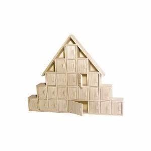 Calendrier De L Avent Maison En Bois : calendrier de l 39 avent en bois chalet maison pratic boutique pour vos loisirs creatifs et ~ Melissatoandfro.com Idées de Décoration