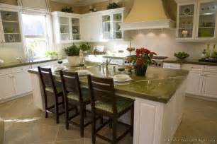 white kitchen cabinets green granite myideasbedroom