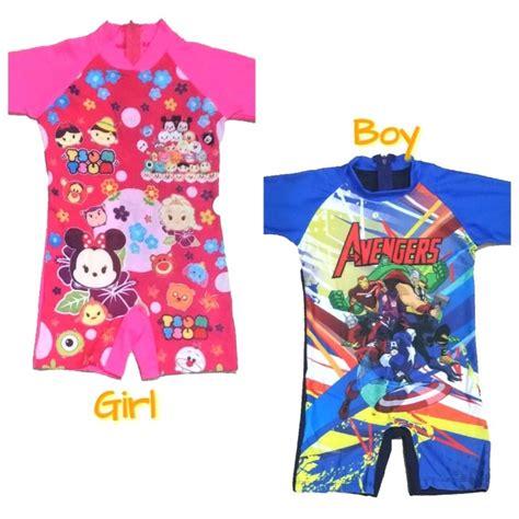 contoh gambar mewarnai gambar baju renang anak tk