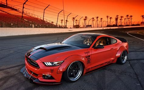modded cars wallpaper 2015 ford mustang s550 bodykit modified cars free desktop