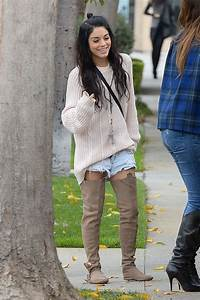 Vanessa Hudgens Street Style - Out in West Hollywood ...