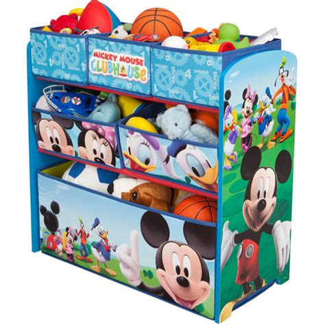 Mickey Mouse Clubhouse Bedroom Curtains by Disney Multi Bin Toy Organizer Mickey Mouse By Delta Ebay
