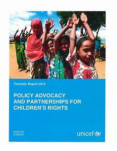 2014 05 01 Thematic Report 2013 - Policy Advocacy ...