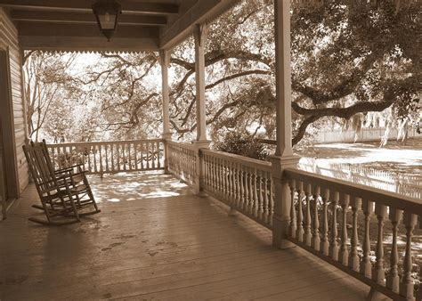 Southern Front Porch Whistler by Cozy Southern Porch By Carol Groenen