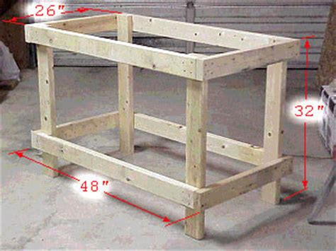 easy workbench plans   woodworking