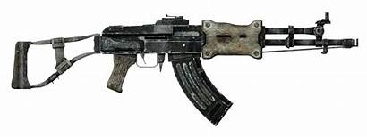 Assault Rifle Fallout Guns Weapon Unique Vegas