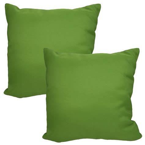 set of 2 throw pillows indoor outdoor furniture