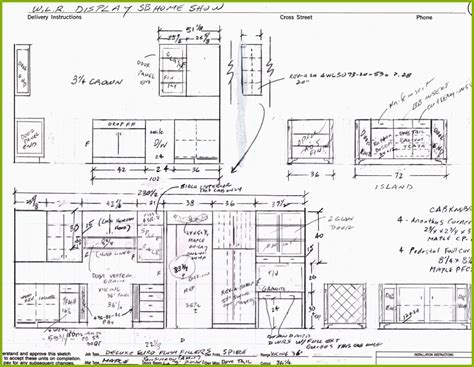 kitchen cabinets details cabinet detail drawing at getdrawings free for 2966