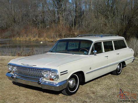 1963 Chevy Impala Wagon  Factory 409  Build Sheet 340