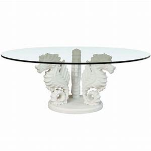 seahorse cocktail table at 1stdibs With seahorse coffee table