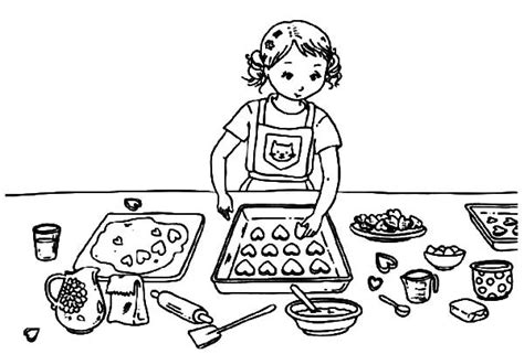 See more ideas about christmas cookies, cookie decorating and cookies. Cookie Coloring Pages - Best Coloring Pages For Kids