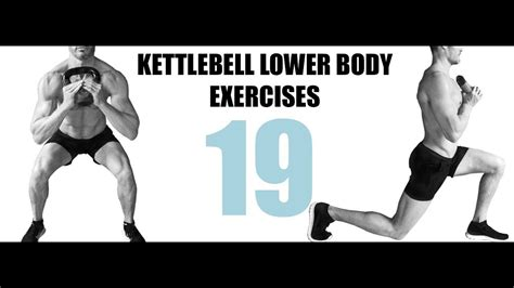 lower body exercises kettlebell target muscles they