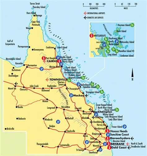 interactive queensland map queensland australia