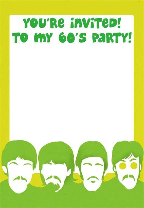 printable  party invitation  pinterest