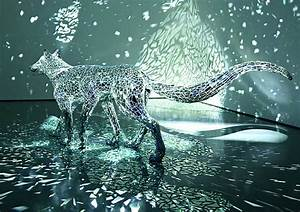 A Reflective Six-Legged Wolf Covered in Mirror Shards by ...