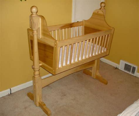 baby cradle plans wooden cradle plans rock  bye baby