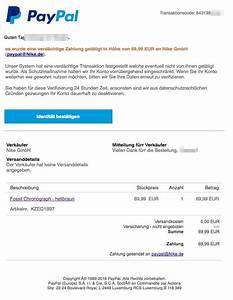Paypal Zahlung Nicht Möglich : paypal phishing e mail ihr autorisierung an outfittery gmbh ~ Eleganceandgraceweddings.com Haus und Dekorationen