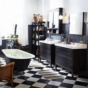 Meuble Salle De Bain Vintage : charmant meuble de salle de bain chez leroy merlin 11 salle de bain retro ikea meuble salle ~ Teatrodelosmanantiales.com Idées de Décoration
