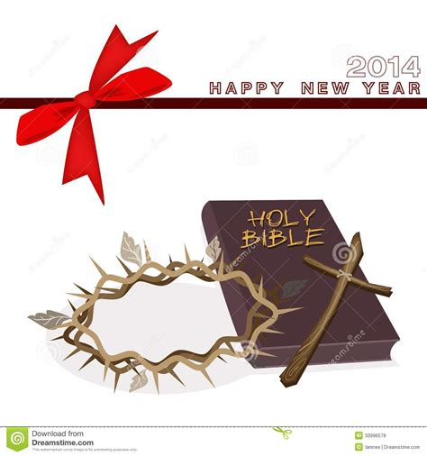 year gift card  bible  crown  thorn royalty