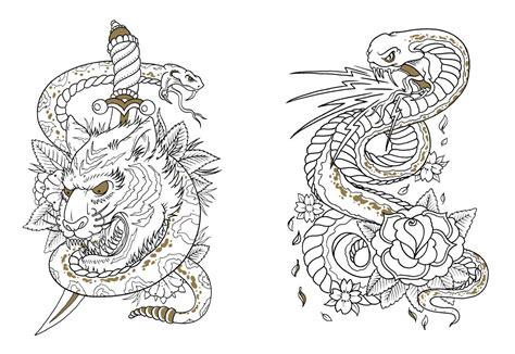 Tattoo Designs Colouring Book Murderthestout