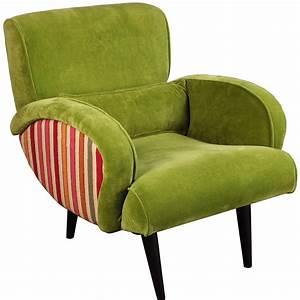 le fauteuil retro velvet la maison coloniale With tapis de course avec fauteuil canapés modulables