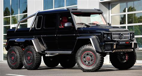 Brabus Makes The Mercedes G 63 Amg 6x6 Even Crazier By