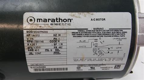 marathon electric   motor khpng lotastock