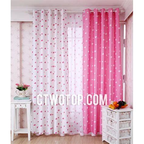 pink and white nursery curtains thenurseries