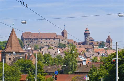 Nürnberg Vom Plärrer Aus Gesehen Aufnahme Juli 2008
