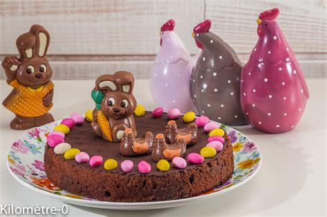 fondant au chocolat special paques