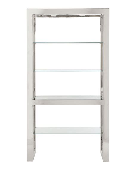 Stainless Steel Etagere by Bernhardt Whalen Stainless Etagere