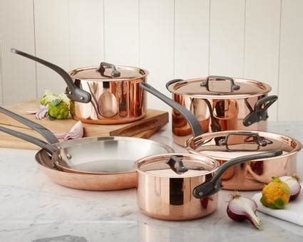 gorgeous  bold mauviel cookware sets