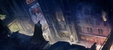 batman arkham city  concept art revealed