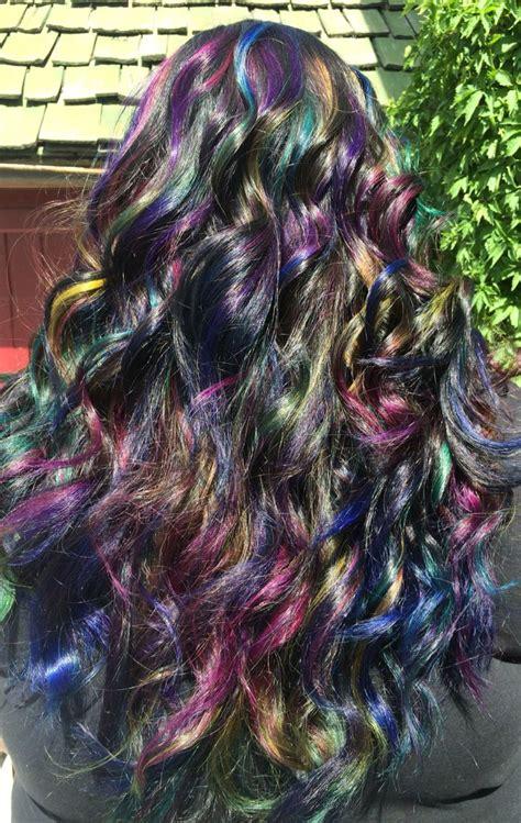 Oil Slick Hair Pravana Vivids Hair Pinterest
