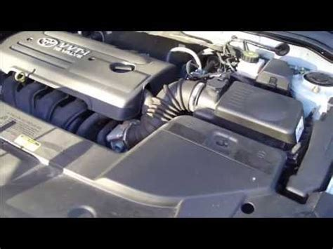 how to replace air filter toyota avensis years 2003 to 2009 youtube