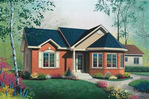 house plan    bedroom  sq ft bungalow contemporary home tpc dd