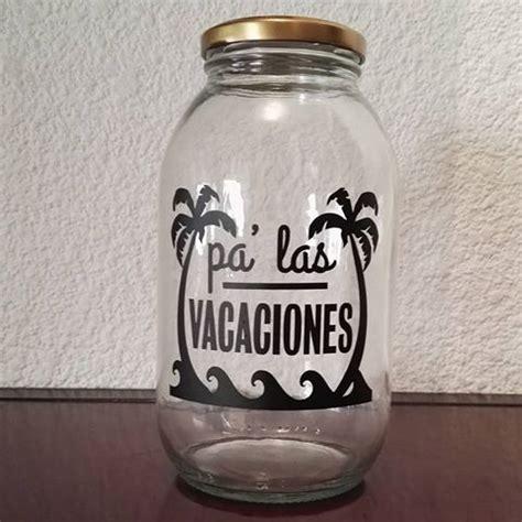 yeii alcancias vidrio frascos frascosdevidrio alcanciasdecoradas alcanc 237 a
