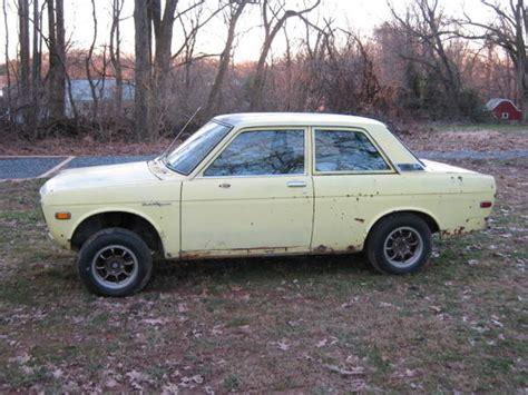 72 Datsun 510 For Sale 72 datsun 510 2 door project east coast washington dc