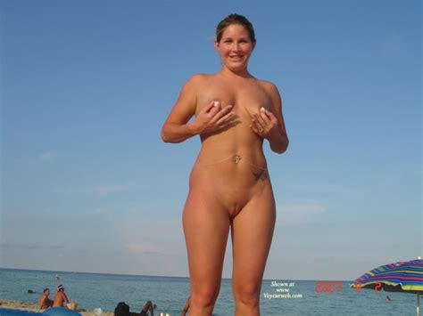 Fully Shaved Pussy On Beach November Voyeur Web Hall Of Fame