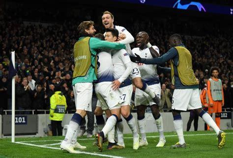 Manchester City Spurs Champions League