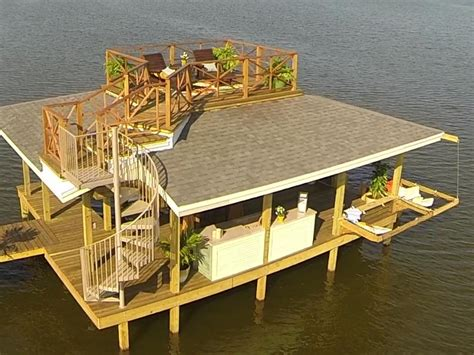 How To Build A Boat Dock Out Of Wood by How To Build Hanging Dock Hammocks How Tos Diy