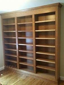 bookcase plans Bookcase Built In Woodworking Project