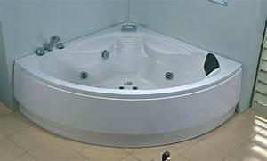 Grande Baignoire D Angle : salle de bain baignoire d 39 angle dalia baignoire ~ Edinachiropracticcenter.com Idées de Décoration
