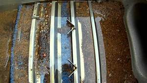 Gold Prospecting Dredge Sluice Riffle Inspection
